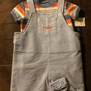NWT Crown and Ivy Boys Romper